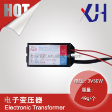 Wholesale scale model material 12v 50w electronic transformer with Overload Protection