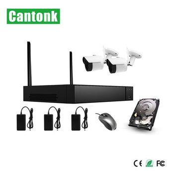 new h.265 h.265+ 2ch wifi kits with 5mp ip camera wifi