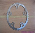 XACD made titanium bicycle chain ring customized bike chain ring super light titanium crankset & chain ring made in China
