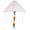 cartoon drawing diy delta kite white