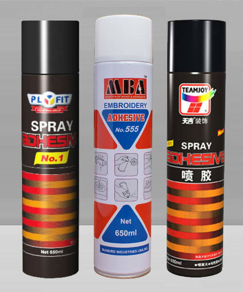Waterproof spray adhesive for clothing