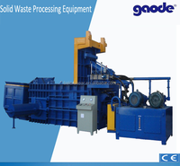 hydraulic wire rope press machine for recycling industry