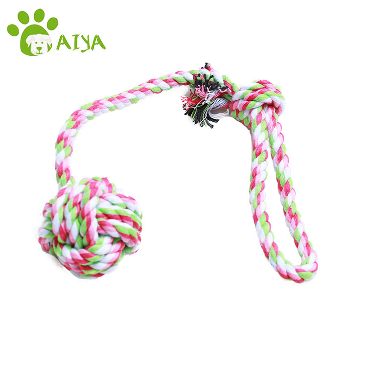 Dog Toys Cotton Rope Cat Handmade Knitted Pet Toy