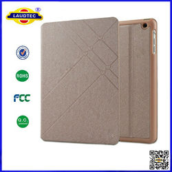 Silk Pattern Leather Case Smart Cover For Apple iPad Air iPad 2,3,4,5--Laudtec