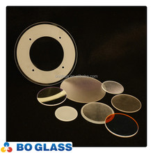 round tempered glass panel for lighting cover