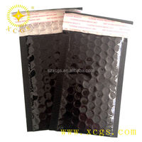 Metallic Bubble Envelopes with colorful aluminum foil Padded Shipping Envelope Bag Self Seal Color PE Bags