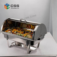 Stainless steel catering chafing dishes for Hotel