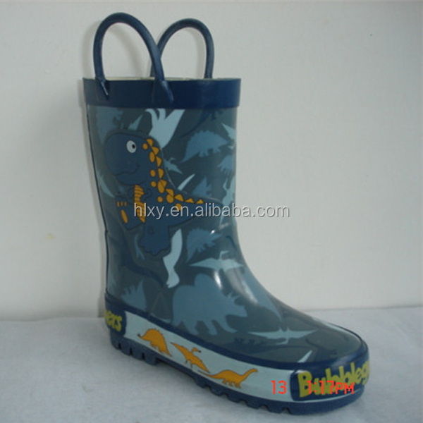 transparent rubber boots