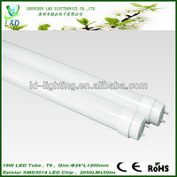 AC85-265V t8 18w rgb led fluorescent tube