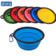 Unbreakable Heat Resistant Collapsible Foldable Silicone Food Bowls