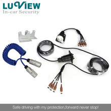 10m Length 7 Pin 4 CH Iron Lining Trailer Cable for Car Rearview System