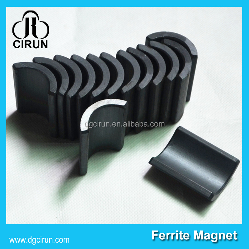 arc shape ceramic magnetic magnet motor free energy