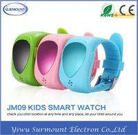 Factory Price GPS Tracker Watch SOS Emergency Anti Lost GSM Phone For Kids