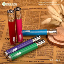 Green Sound tech E cig carbon fiber battery 2200MAH GS EGO II twist e cigarette variable voltage battery