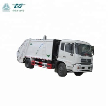 Dongfeng 6 tons Garbage Compactor Truck 8000liters Waste Disposal Trucks With Hydraulic Rear Load Handles