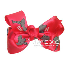 Wholesale Boutique High Quality Novelty Decorative Ribbon Bows, Hair Clips For Girls