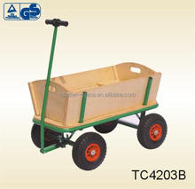 kids cart / wagon / four wheel wooden cart for child-GS certified TC4203B