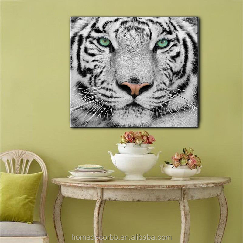 classical tiger images canvas paintings famous wall art pictures for living room home decorative giclee printing wholesale