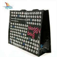 Top sale guaranteed quality custom promotion pp woven bag