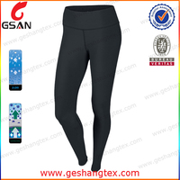 Quick dry girls in tight running pants with OEM service