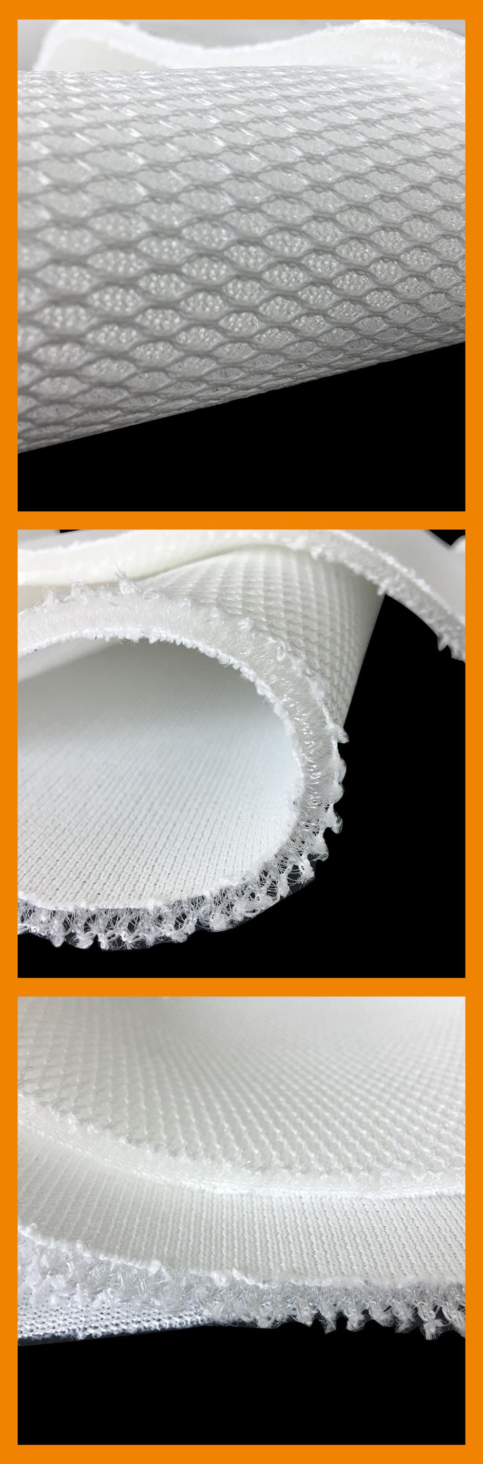 5mm thick mattress material air flow mesh fabric