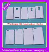 JESOY Wholesale 3D Vacuum Heat Press Sublimation Blanks Case For iphone Samsung Custom Printing