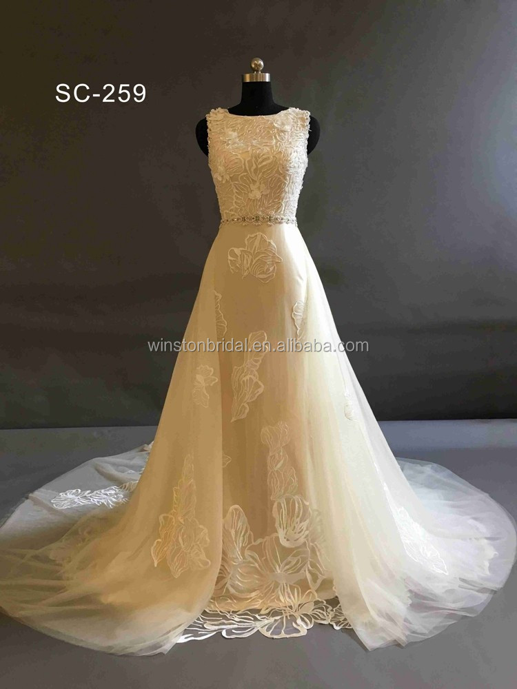 Bride Use and OEM Service Supply Type Custom made wedding gown