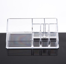 Factory Wholesale Acrylic Makeup Storage Cosmetic Organizer Desktop Make Up Container