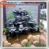 Guangzhou man made high quality cheap artificial fake rock landscape rock waterfall fountains prices for garden