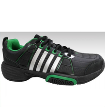 Latest Custom Design Black Leather Tennis Sneakers Shoes For Men wholesale
