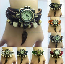 Wholesale Long Band Leather Watch Vintage Style Vogue Women Watch
