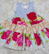 FLORAL PRINT GIGGLE MOON REMAKE BABY SUMMER DRESS