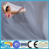 China Manufacturer 100% polyester sheer voile fabric