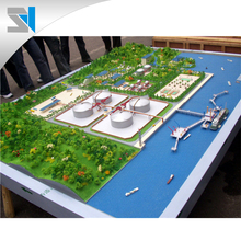 Industrial machine scale model for work display, customized miniature models