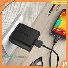 Hot Aukey PA-U28 QC2.0 EU US Plug Mobile Phone Wall Adapter Charger