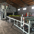 PET PC clear roofing sheet/tile extrusion machine