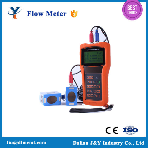 China supplier cheap handheld water ultrasonic flowmeter