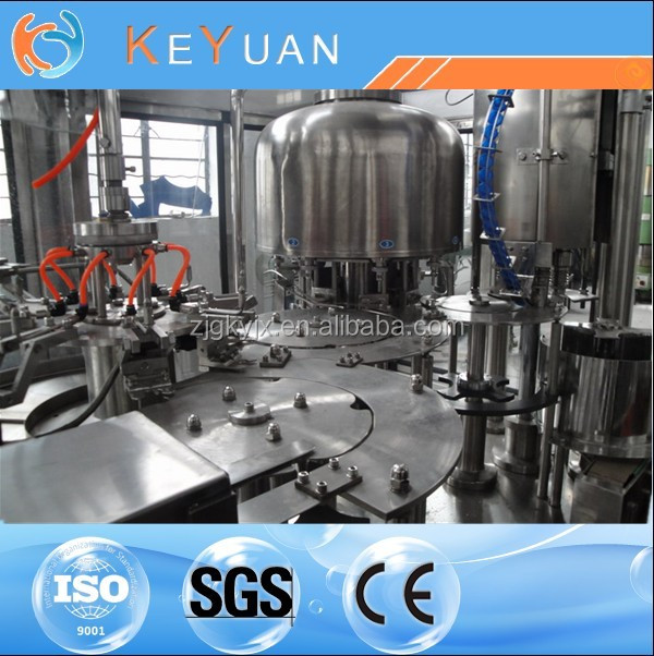 Automatic 3in1 Carbonated drink filler/Line/PET PC PE 2000-12000B/H bottle automatic carbonated beverage filling machine