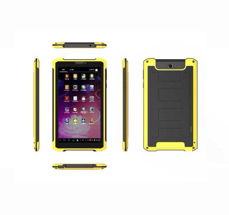 7 inch Android Bult-in 3G GPS Rugged Tablet PC With 8000 mAH Power Bank
