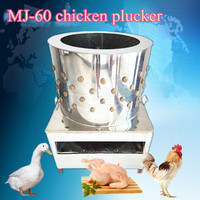 Chicken plucker used MJ-60 chicken turkey duck goose plucking machine for sale