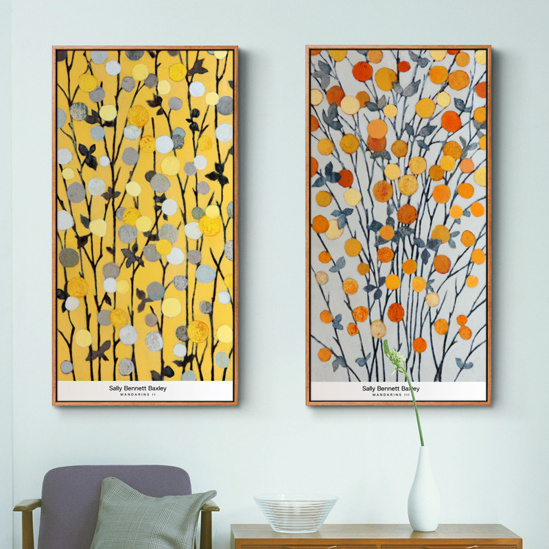 Handmade Home Decoration Flower Wall Painting Abstract
