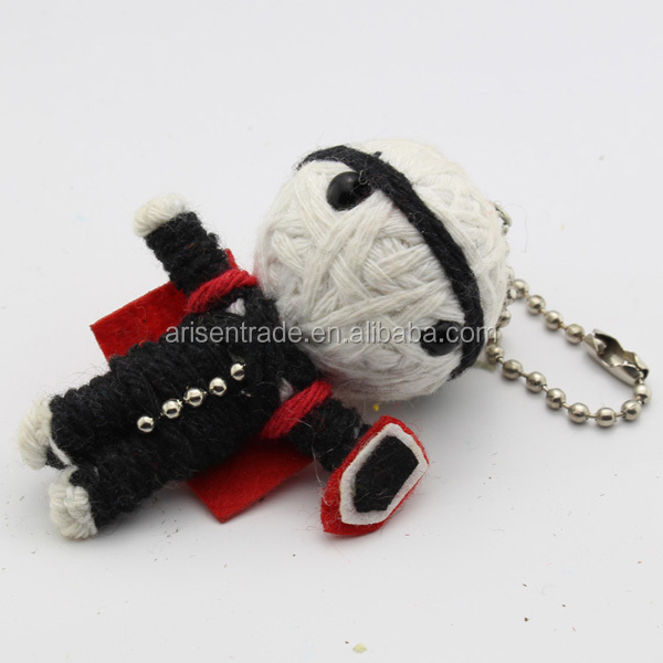 cheap hot selling voodoo doll cell phone pendant