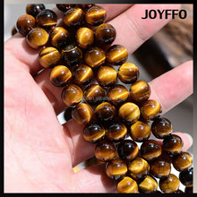 Jewelry Making 4mm-12mm Loose Round AAA Natural Tiger Eye Gemstone Beads
