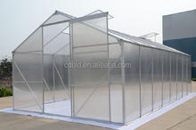 Cheap polycarbonate agricultural greenhouse , low cost tunnel plastic greenhouse for sale , commercial green house