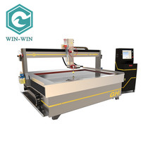 Professional granite cutting high performance waterjet cutting machine