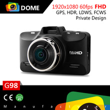Super FullHD 1080P/60fps Vehicle camera recorder 2.7'' LCD car dvr camera G-sensor Video Registrator