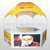 3x3m promotional pop up dome kiosk tent on sale