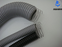 pvc spiral steel wire reinforced hose pipe