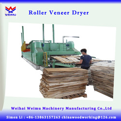 BG1332, 2 deck Roller type plywood core veneer dryer machine