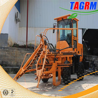 Modern agricultural equipment sugarcane harvester combined SH15 mini cane cutting machine